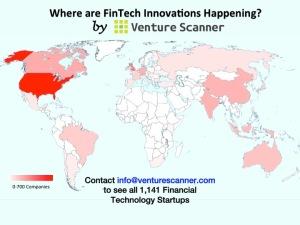 Fintech Startups Geography